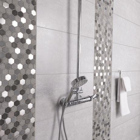 la mosaïque réveille votre salle de bains | leroy merlin - Mosaique Carrelage Salle De Bain