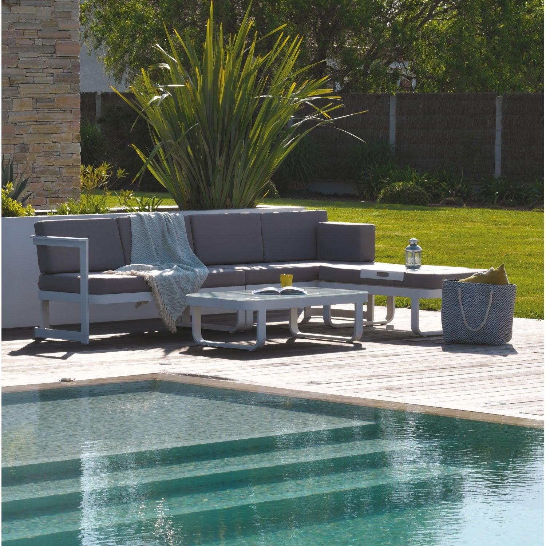 emejing salon de jardin blanc alu ideas amazing house. Black Bedroom Furniture Sets. Home Design Ideas
