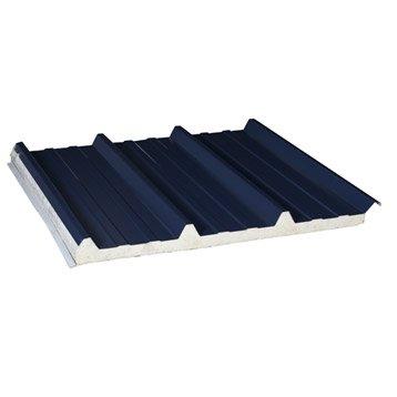Awesome plaque isole surmesure nervur acier isol mm dhaze with plaque de toiture leroy merlin for Tuile fond plat prix