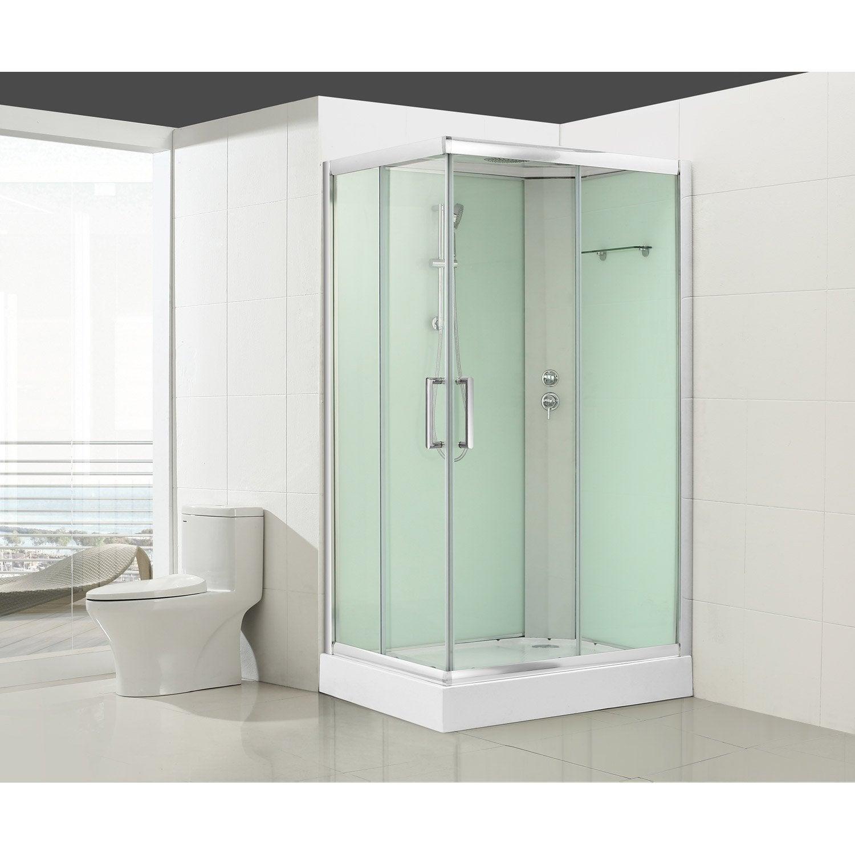 cabine de douche rectangulaire quad leroy merlin. Black Bedroom Furniture Sets. Home Design Ideas