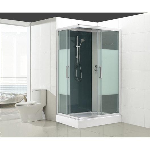 Cabine de douche rectangulaire, Quad | Leroy Merlin