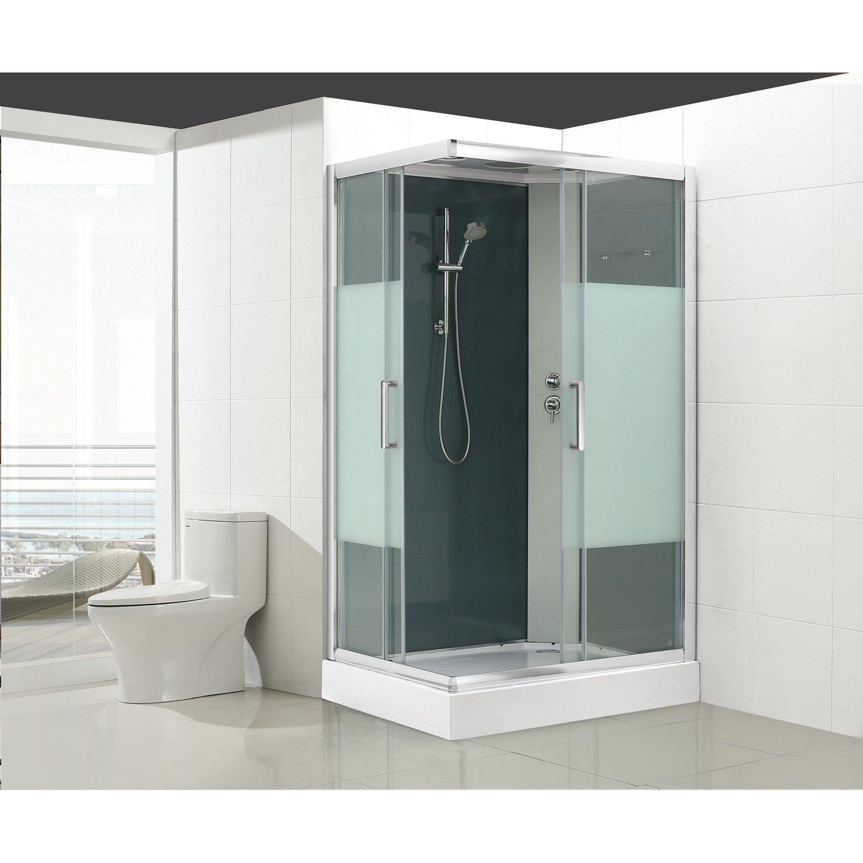 cabine de douche chez leroy merlin