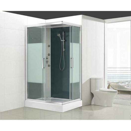 cabine de douche salle de bains au meilleur prix leroy. Black Bedroom Furniture Sets. Home Design Ideas