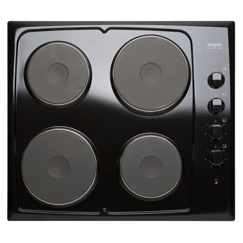 Plaque De Cuisson électrique 4 Foyers Noire Frionor Genofri