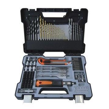 Coffret mixte forets/embouts multimatériau, Diam.Multi mm DEXTER PRO