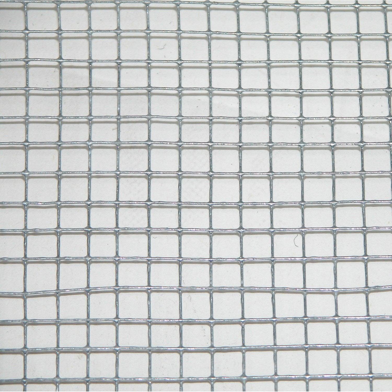 Grillage Pour Animaux Soudé Gris H05 X L3 M Maille H6 X L64 Mm