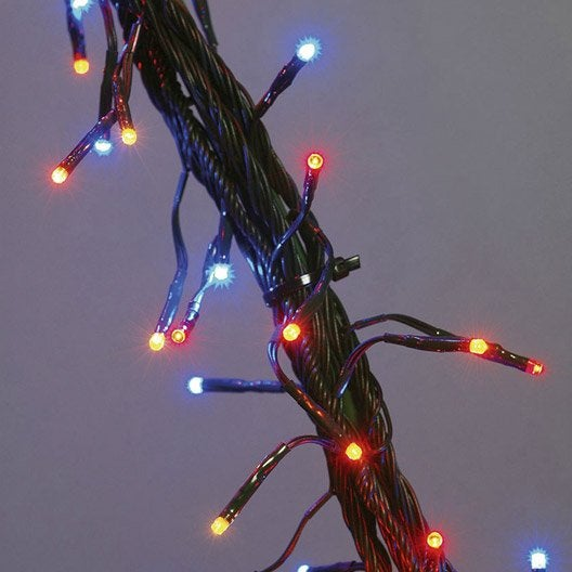 Guirlande lumineuse multicolore flicker 8m leroy merlin - Guirlande lumineuse exterieur leroy merlin ...