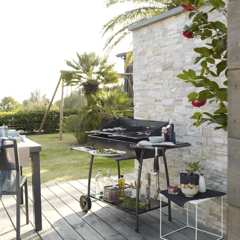 Barbecue En Pierre De Parement c'est une superbe idée  la pierre - passionnément