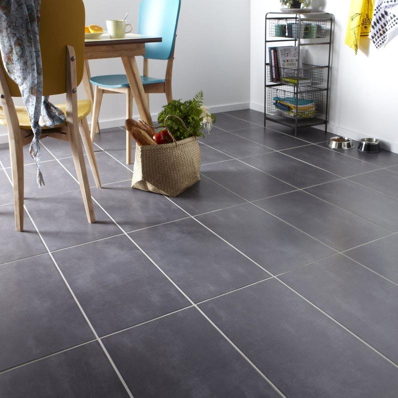 Imitation carrelage id al en cuisine leroy merlin for Carrelage imitation beton