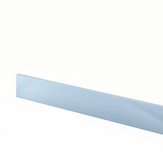 Plinthe de cuisine bleu plinthe crystal x cm for Plinthe cuisine 17 cm