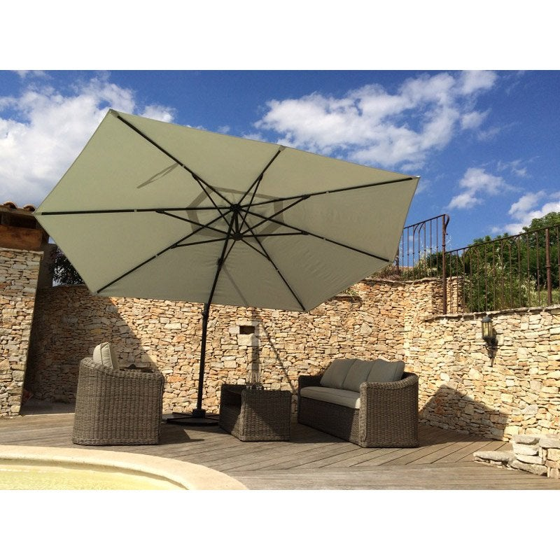 Parasol Deporte Inclinable 3x4. Amazing Sombrilla Reclinable Tipo ...