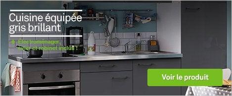 Meuble de cuisine cuisine leroy merlin for Concevoir ma cuisine