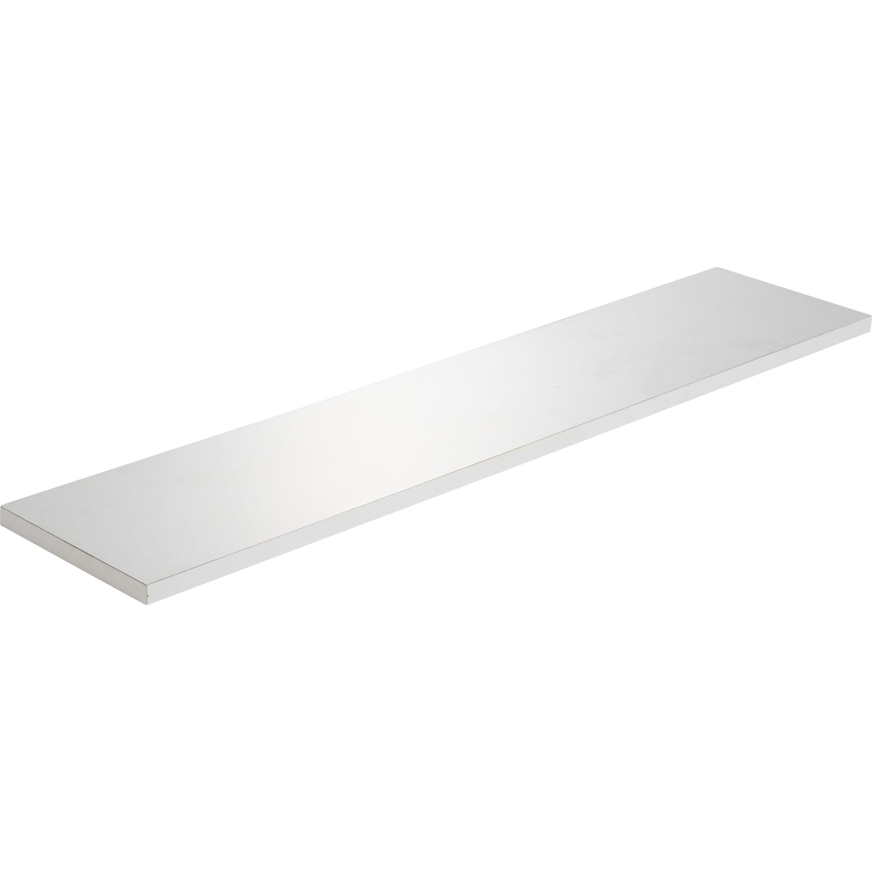 Etagère Murale Blanc L 90 X P 20 Cm Ep 18 Mm