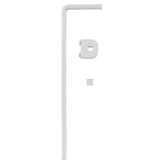 Renforcement de tringle rideau ib pour porte encastr e blanc leroy merlin - Tringle rideau porte ...