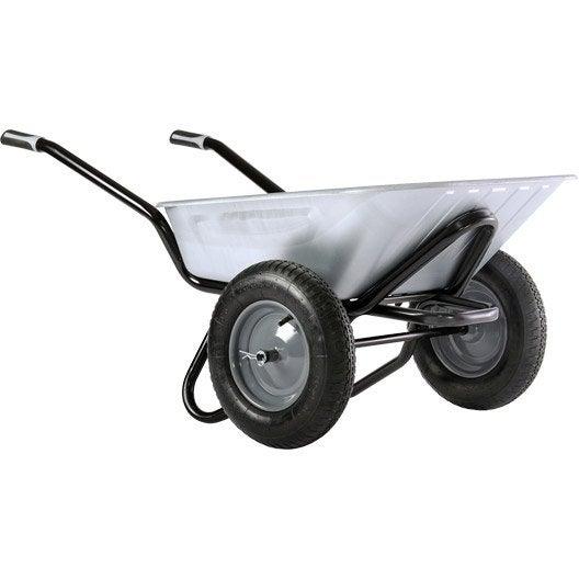 roue de brouette haemmerlin aktiv excellium twin galva gonfl es 100 l 150 kg leroy merlin. Black Bedroom Furniture Sets. Home Design Ideas