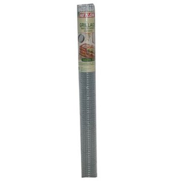 Grillage soudé gris H.1 x L.3 m, maille de H.12 x l.12.7 mm