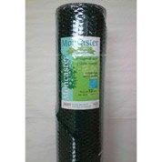 Grillage triple torsion vert H.1 x L.25 m, maille de H.13 x l.13 mm