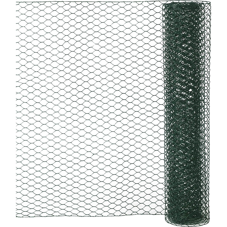 Grillage Pour Animaux Triple Torsion Vert H05 X L25 M Maille H13 X L13 M