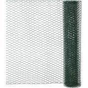 Grillage triple torsion vert H.0.5 x L.2.5 m, maille de H.13 x l.13 mm