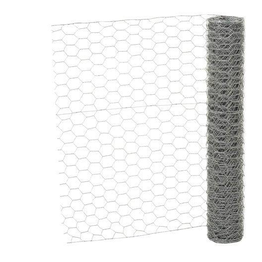 grillage pour animaux triple torsion gris h 1 x m. Black Bedroom Furniture Sets. Home Design Ideas