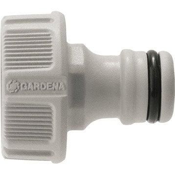 Nez de robinet automatique 20/27 mm GARDENA