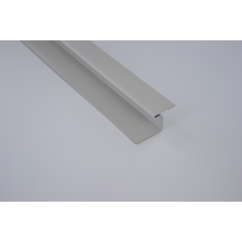 joint de dilatation aluminium 27 x 55 scover plus gris l 2 m leroy merlin. Black Bedroom Furniture Sets. Home Design Ideas