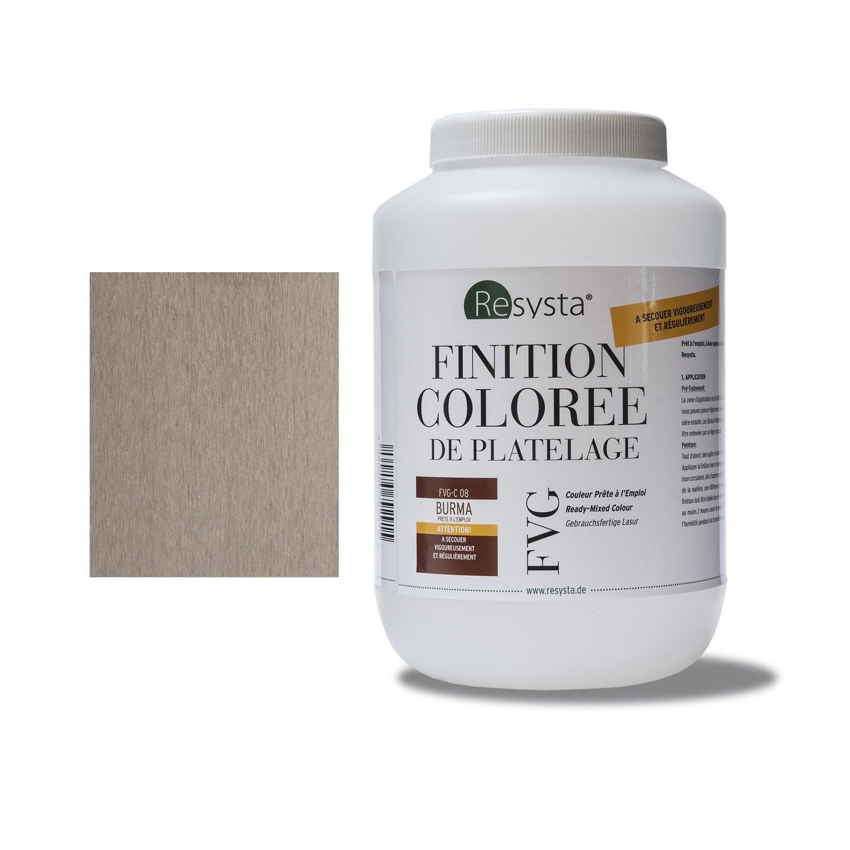 peinture pour clin composite 13 x 19 resysta marron clair leroy merlin. Black Bedroom Furniture Sets. Home Design Ideas