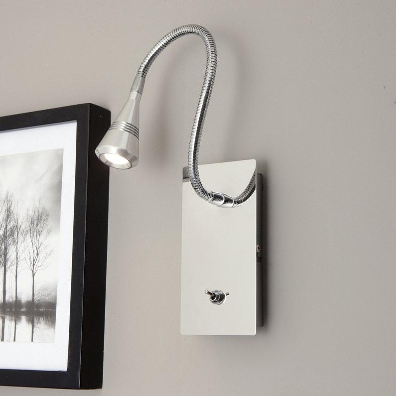 eclairage mural en argent leroy merlin. Black Bedroom Furniture Sets. Home Design Ideas