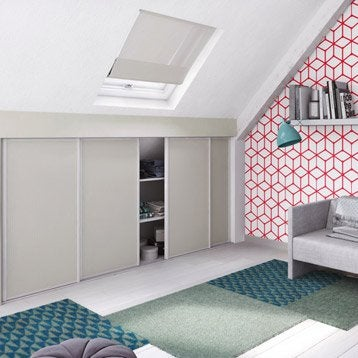 Interieur Placard Leroy Merlin Maison Design Bahbecom - Porte placard coulissante avec porte pliante interieur