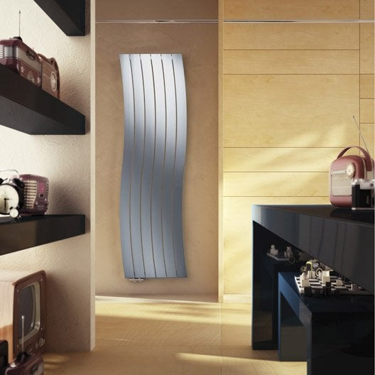 radiateur chauffage central brillant chrome brillant cm 921 w leroy merlin. Black Bedroom Furniture Sets. Home Design Ideas