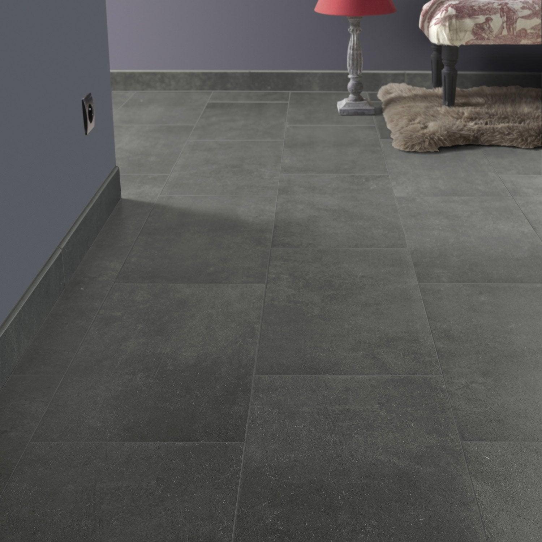 carrelage sol et mur noir graphite effet pierre roma. Black Bedroom Furniture Sets. Home Design Ideas
