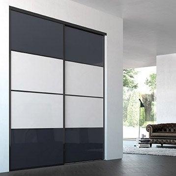 Porte Coulissante Pas Cher Leroy Merlin Maison Design Bahbecom - Porte placard coulissante de plus porte en pvc