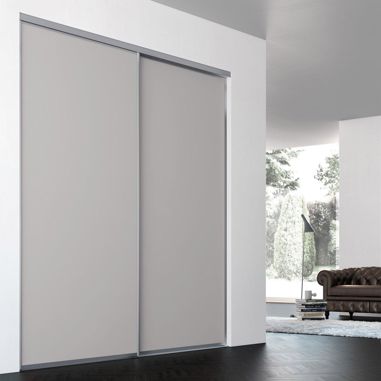Porte De Placard Coulissante Sur-mesure ILIKO Classic De 80.1 à 100 Cm