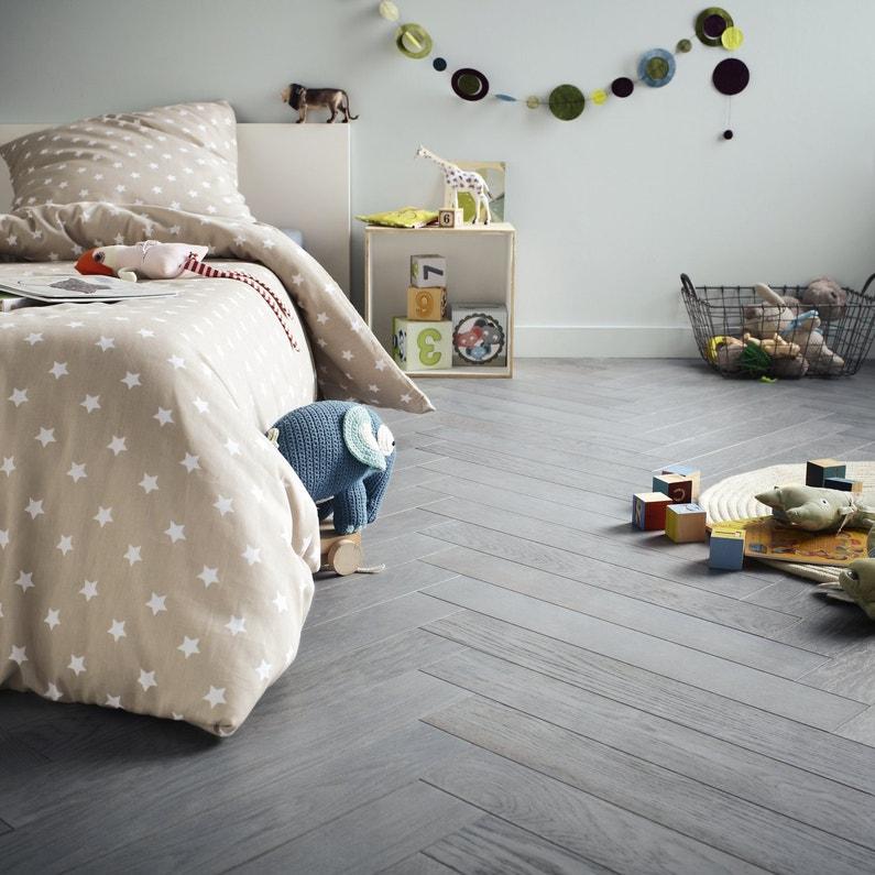 du parquet en ch ne teint bleu gris b ton rompu pour la. Black Bedroom Furniture Sets. Home Design Ideas