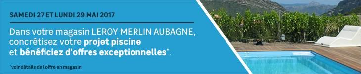 Offres exceptionnelles projet Piscine - Aubagne