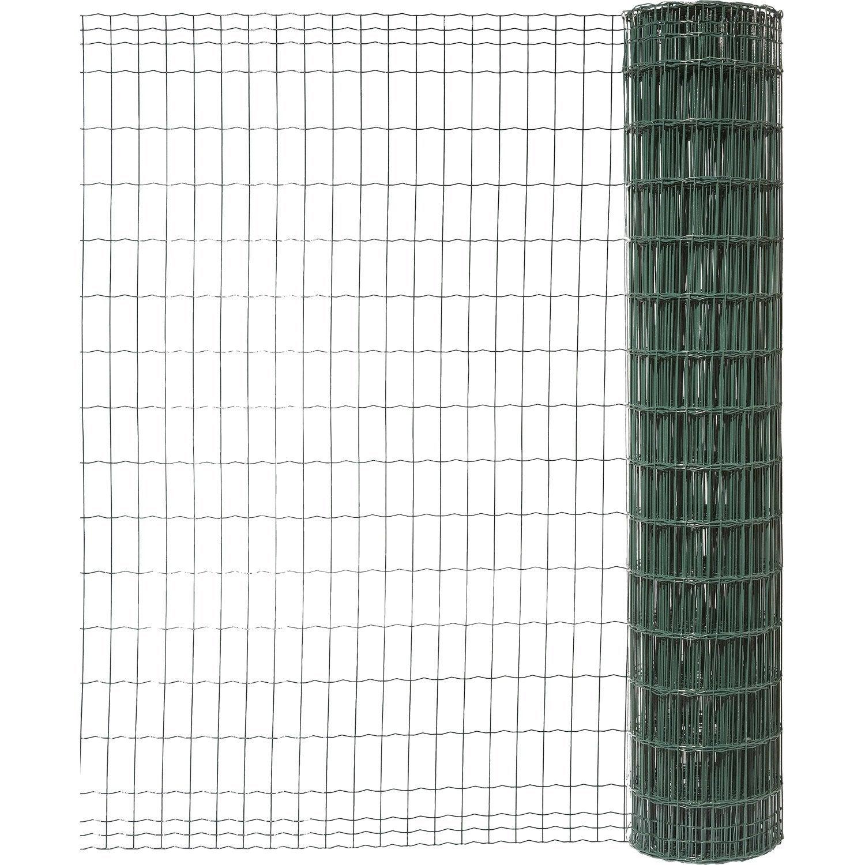 grillage rouleau soud vert h 1 5 x m maille. Black Bedroom Furniture Sets. Home Design Ideas