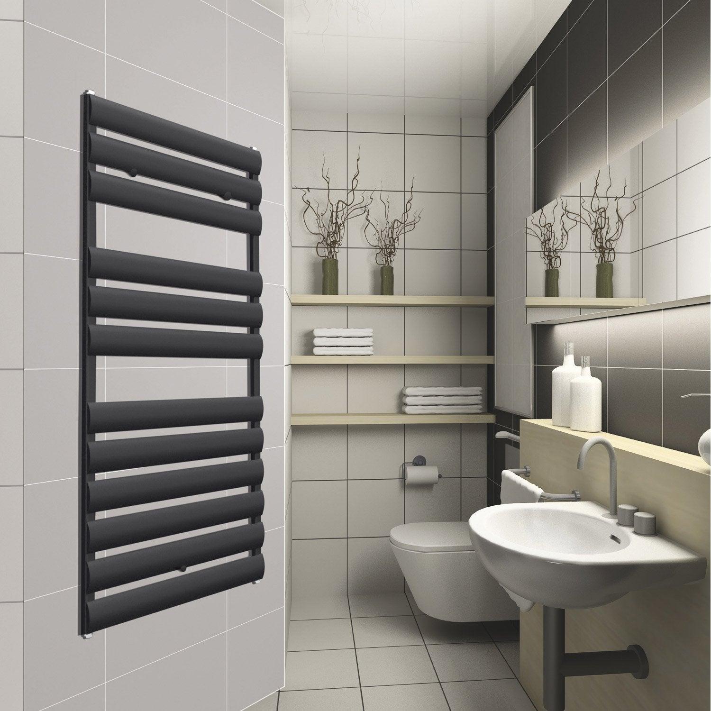 radiateur seche serviette noir affordable radiateur seche serviette soufflant castorama trendy. Black Bedroom Furniture Sets. Home Design Ideas