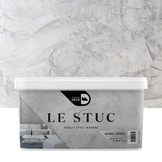 Peinture effet le stuc maison deco marbre turquin 5 for Stucco peinture murale