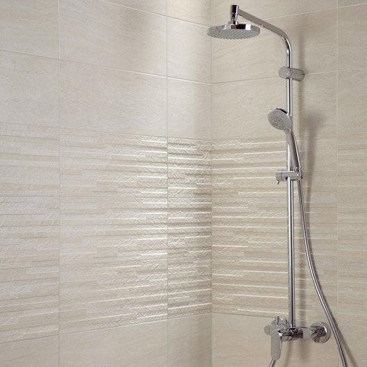 Carrelage mural et fa ence pour salle de bains et cr dence for Carrelage mural de douche