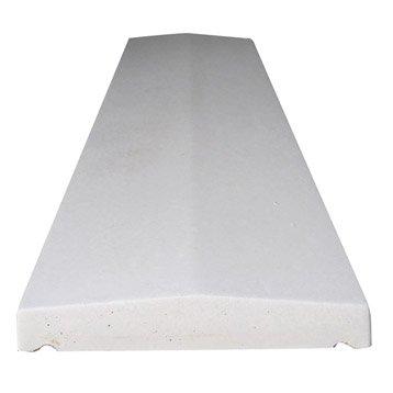 Couvre-mur bétonH.4.5 x L.100 x P.25 cm