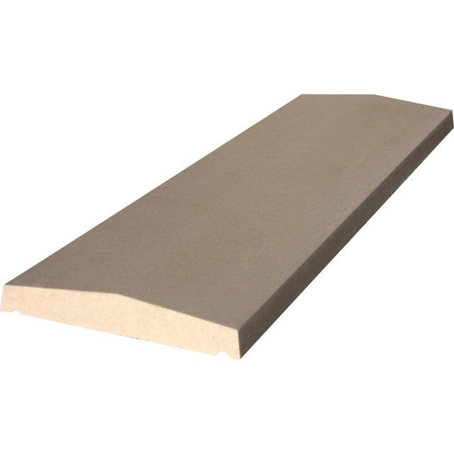 Couvre Mur Plat Lisse Ton Pierre H5 X L30 X P30 Cm