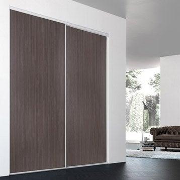 Porte de placard sur mesure leroy merlin - Ikea portes coulissantes placard ...