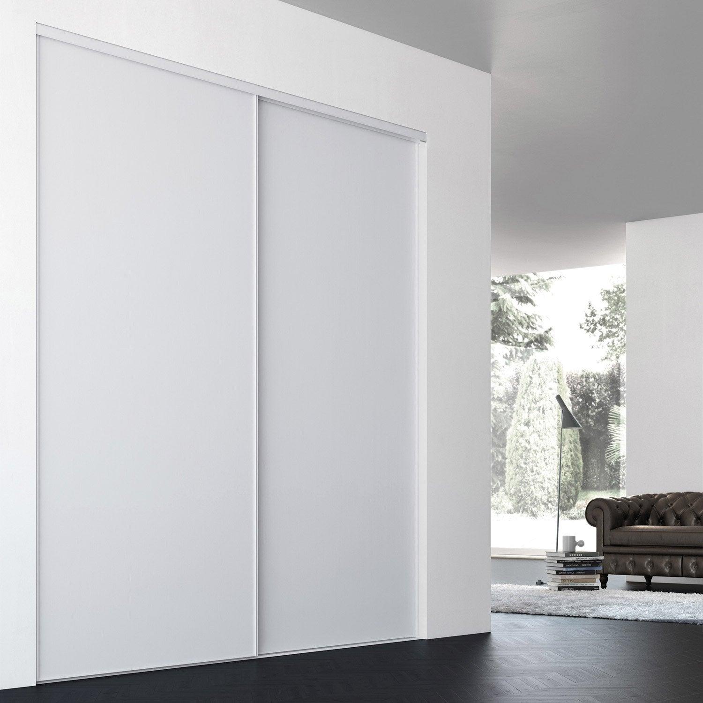 Pose de porte de placard coulissante elegant pack portes - Pose porte coulissante placard ...