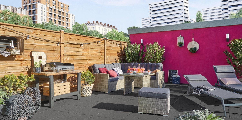 Un toit aménagé en terrasse | Leroy Merlin