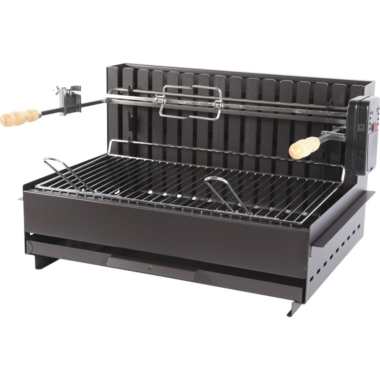 grilloir en acier vulcain 3657 x x cm leroy merlin. Black Bedroom Furniture Sets. Home Design Ideas