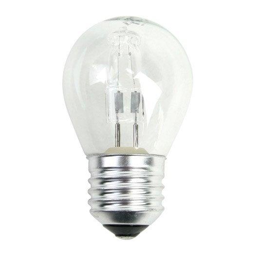 ampoule sph rique halog ne 28w 410lm quiv 37w e27 2800k lexman leroy merlin. Black Bedroom Furniture Sets. Home Design Ideas