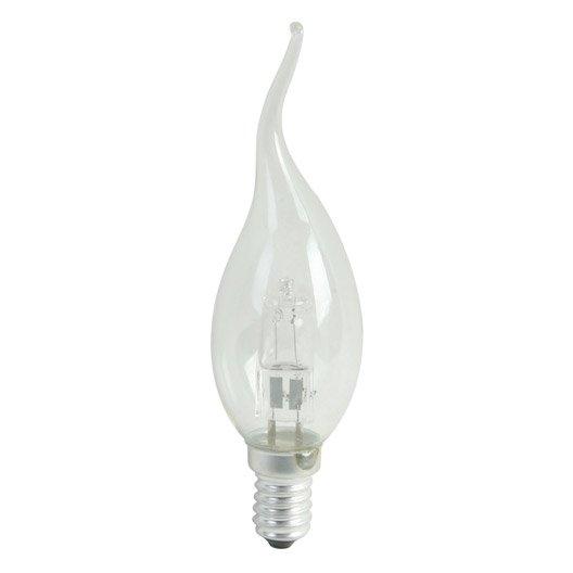Ampoule flamme halog ne 30w 410lm quiv 40w e14 2800k - Ampoule e14 40w ...