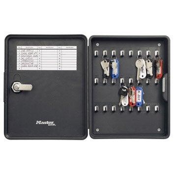 Armoire à clés MASTERLOCK 24 crochets à clés, l.21.5 x H.26.5 x P.4.5 cm