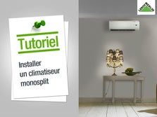 Installer un insert b ches ou granul s leroy merlin - Comment installer un climatiseur ...