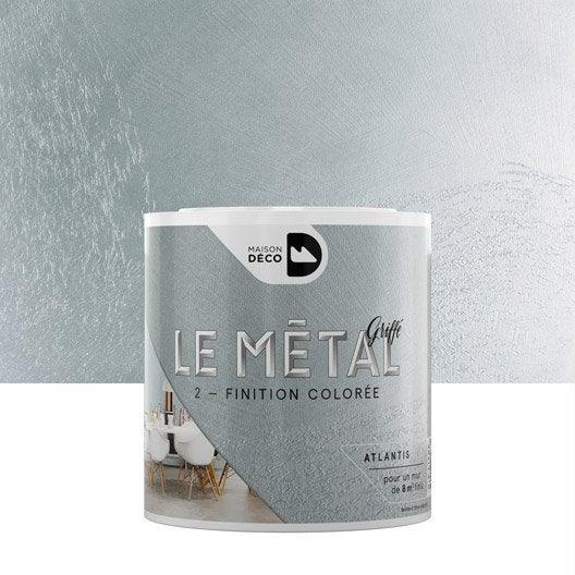 Enduit d coratif le m tal griff maison deco atlantis 0 for Miroir uyuni leroy merlin